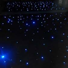 black led background light star stage curtain buy black led
