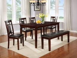 dining room tables san antonio 5pc dinette with bonus free bench upholstered top bench bel