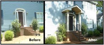 front porches on colonial homes adding front porch to brick ranch house style garrison colonial