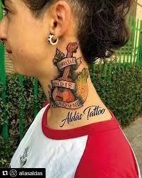 the 25 best men u0027s side neck tattoos ideas on pinterest geometry