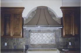 Ool Backsplash Ideas With Wooden Kitchen Cabinets For by Kitchen Cool Patterned Tile Backsplash Ideas With Stove Hoods