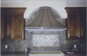kitchen cool patterned tile backsplash ideas with stove hoods