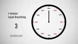 Challenge Breathing 1 Minute Equal Breathing Meditation Challenge