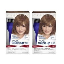 clairol nice n easy natural light auburn clairol nice n easy root touch up 6r kit pack of 2 matches light