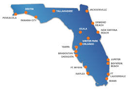 Ocala Florida Map Svn Office Locations Commercial Real Estate Advisors Florida