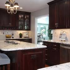 river white granite with dark cabinets espresso cabinets with kashmir white granite okeviewdesign co
