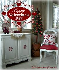 Images Of Valentines Day Decor by Quick U0026 Easy Transformation Christmas To Valentine U0027s Day An