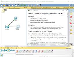 tutorial cisco packet tracer 5 3 11 5 2 4 packet tracer configuring a linksys router instructions