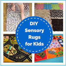 Kids Play Rugs With Roads by Diy Sensory Rugs For Kids Montessori Nature