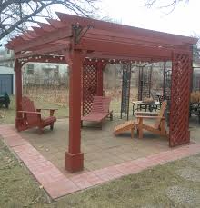 Home Decorators Collection Artisan Backyard Discovery 7 8 Ft H X 12 W 10 D Pergola Loversiq