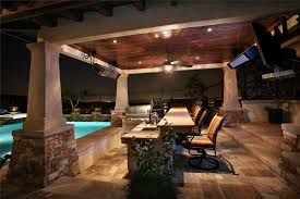 covered outdoor kitchen home improvement ideas