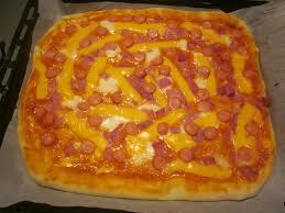 journal de cuisine pizza et croûte au gouda le de cuisine de frédérique