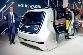 volkswagen santa volkswagen shows off its vision for a driverless future