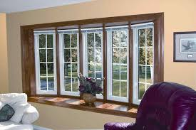 for bay windows modern bay window treatments hubush kitchen cool