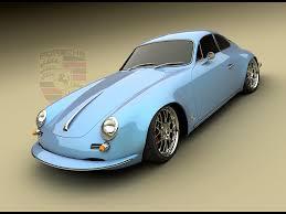 porsche panamera concept porsche panamera 1965 design concept by bo zolland blue side