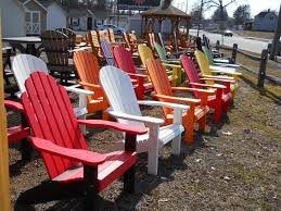 plastic adirondack chairs in ct pine creek structures