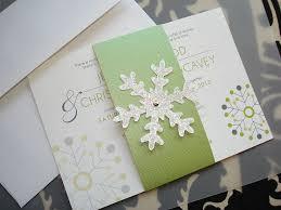 Snowflake Wedding Invitations 34 Best Wedding Invitations Images On Pinterest Handmade Wedding