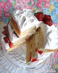 fresh strawberry layer cake recipe