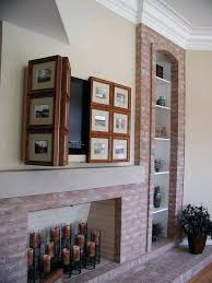 shutter tv wall cabinet hidden tv wall cabinet shutters with favorite photos will hide your