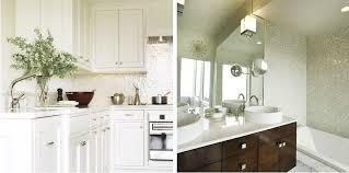 white kitchen backsplash tiles encore ceramics kitchen backsplash wave mosaic in color