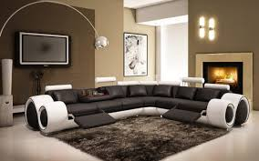 Leather Sectional Sofa With Power Recliner Sofa Imposing Reclining Sofa With 3 Recliners Terrific Sectional