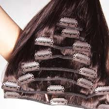 hair clip extensions nadula 100 real cheap human hair clip in indian