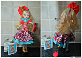 Ever After High Apple White Doll Ever After High U2013 Way Too Wonderland Apple White Doll Review