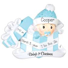 baby boy 1st christmas my personalized ornaments
