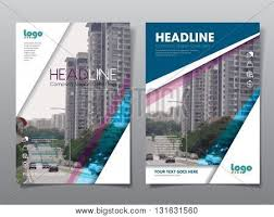 cover layout com annual report brochure flyer vector photo bigstock