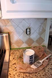 i painted our tile backsplash yes i did