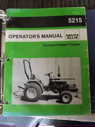 deutz allis 5215 hst mfwd tractor item j6946 sold augus