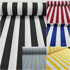 Black And White Striped Upholstery Fabric Striped Curtain Fabric Ebay