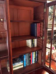 mahogany bookcase with doors best shower collection
