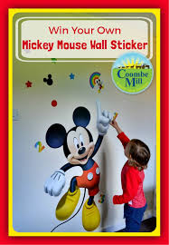 disney mickey mouse room sticker coombe mill win mickey mouse wall sticker