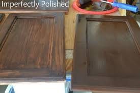 how to use minwax gel stain on kitchen cabinets stained master vanity a tutorial painting oak cabinets