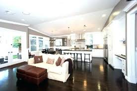 living room and kitchen color ideas open kitchen and living room color ideas elabrazo info