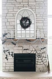 spooky fireplace decorations niña and cecilia