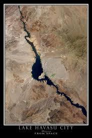 Arizona travel reviews images Lake havasu city arizona satellite poster map lake havasu jpg