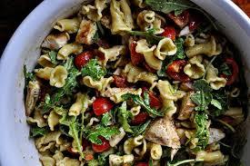 pasta salad pesto the parsley thief pesto pasta salad with grilled chicken