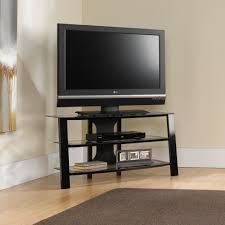 Simple Tv Cabinet With Glass Furniture Interesting Sauder Tv Stand For Home Furniture Ideas