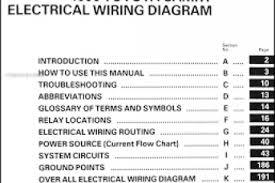 2007 camry electrical wiring diagram manual wiring diagram