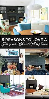 Furniture To Love by 5 Reasons To Love A Dark Grey Or Black Fireplace 10 Dark