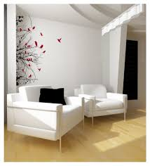 tree branches with birds left sided vinyl wall decal 22111 on luulla