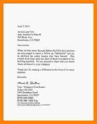 5 sponsorship thank you letter cv for teaching