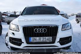 Audi Q5 New Design - breaking new audi q5 facelift caught testing nearly undisguised