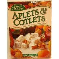 fruit delights liberty orchards aplets cotlets fruit delights candy 10 oz from