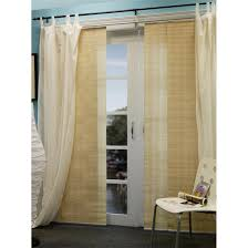 Double Panel Shower Curtains Chicology Provence Creme Double Rail Sliding Panel System