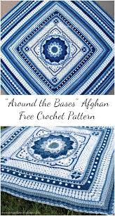 around the bases afghan free crochet pattern patterns valley