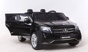 mercedes black car ride on car mercedes gls 63 black 2 4ghz 2 x 12v 4 x