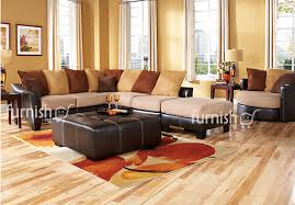 ajibo 5 piece living room sectional bundle leather corner sofas